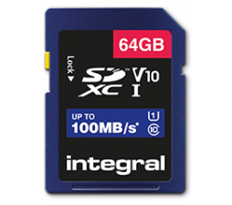 Slika 2 izdelka: Integral 16GB High Speed SDHC/XC V10 100MB Class 10 UHS-I U1